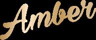 Amber Raw Honey Logo
